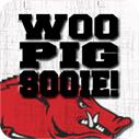 Arkansas Woo Pig Sooie Square Bubble