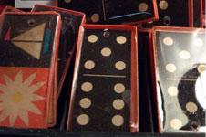 Vintage Resin Dominos