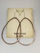 Organic Hammered Hoops