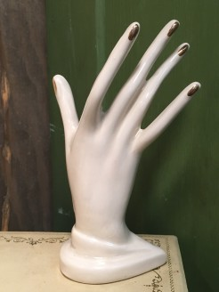 Vintage Hand Ring Holder