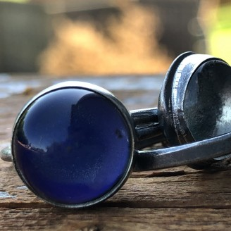 Sterling Silver Round Mood Ring